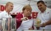 Merkel in the kitchen