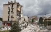 Rescue amid rubble