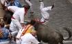 Pamplona Bull run turns nasty