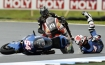 Racing crash