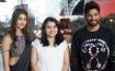 Telugu stars at Ferrari World