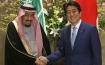 King Salman in Japan