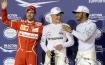 Bottas wins maiden F1 pole