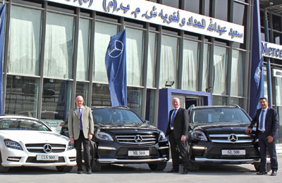 Haddad Offers New V8 Engine Mercedes Models
