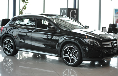 Al Haddad Launches New Mercedes Benz Model