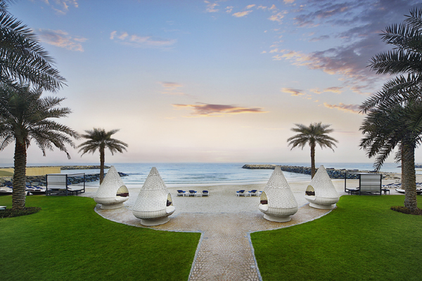 The Ajman Palace Opens Beach And Pool To The Public
