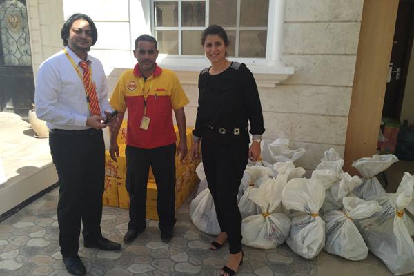 DHL supports charities across Mena during Ramadan