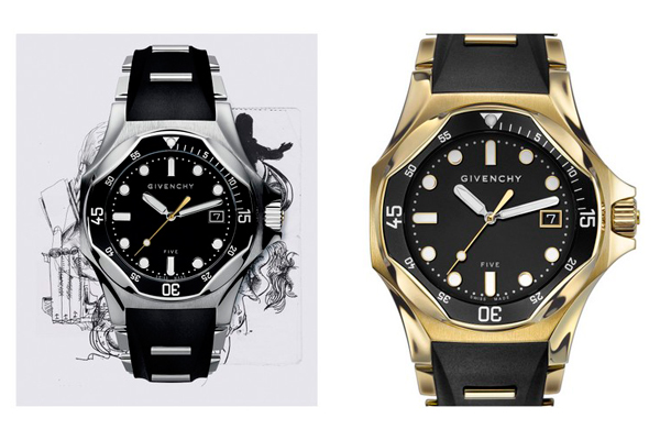 Givenchy launches five 39 shark 39 watches at paris gallery for Givenchy watches