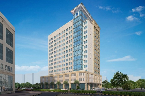 Action group unveils 56m dubai healthcare city hotel upgrade for Upcoming hotels in dubai