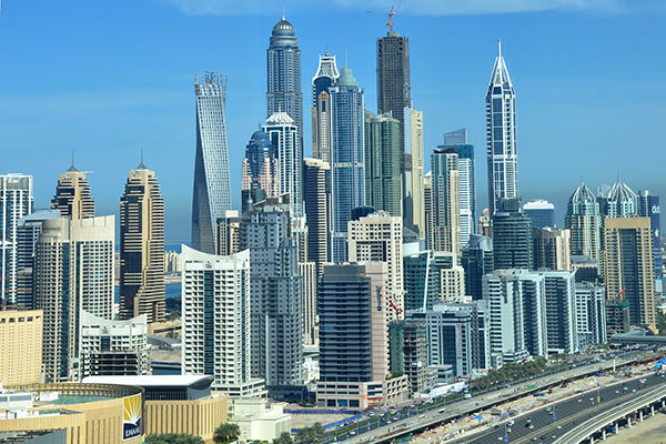 how to call dubai from india