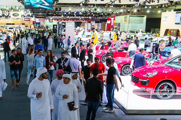 Manufacturers To Take Part In Dubai Motor Show - Car show dubai