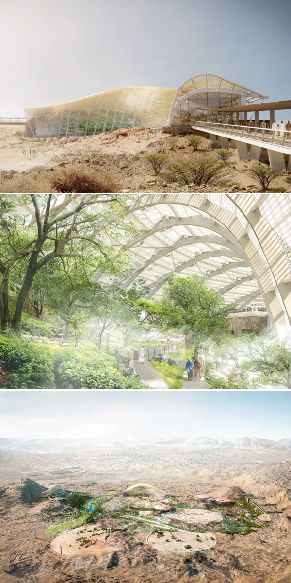 Designs Unveiled For Giant Oman Botanical Garden
