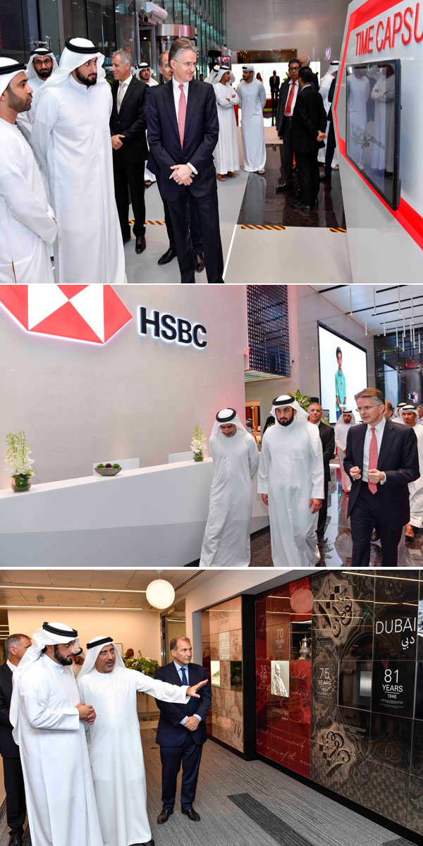 HSBC opens new $250m headquarters in Dubai