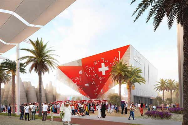 Swiss Pavilion to take part in pre-Expo event